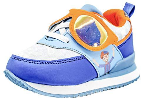 GU Blippi Toddler Boy's Girl's Sneakers (Blue/Orange, Numeric_8)