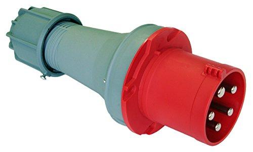 CEE Stecker 63A; 5-polig 6h 400 V Starkstrom Stecker Industriequalittät PCE