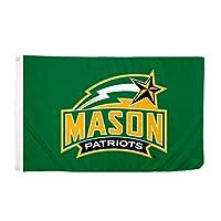 Desert Cactus George Mason University NCAA 100% Polyester Indoor Outdoor 3 feet x 5 feet Flag (Style 5a) [並行輸入品]