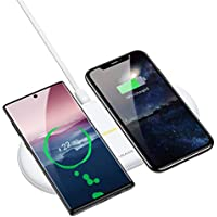USAMS 2-in-1 Wireless Charging Pad