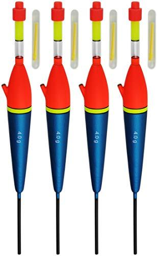 Knicklichtpose Angelschwimmer Knicklichtschwimmer inkl 4 Lichter knick01