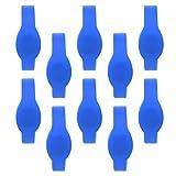 Pulsera - 10pcs 13.56Mhz RFID Pulsera Pulsera de silicona Tarjeta IC impermeable para piscina Sauna(azul)