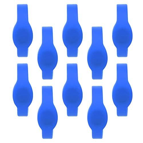 Pulsera RFID Tarjeta de pulsera, 10 piezas 125Khz Pulsera RFID Pulsera de...