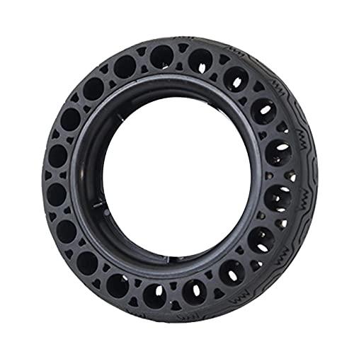 YHUS Neumáticos eléctricos de la vespa, neumáticos sólidos huecos del reemplazo del panal, neumáticos internos y externos, fáciles de instalar (tamaño: 8x2.0)