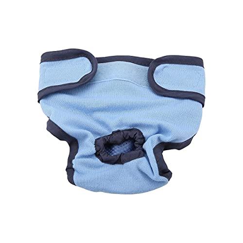 Hundewindeln Hündin Windeln Für Hündinnen Verstellbar Auslaufsicher Wiederverwendbare Höschen Für Hunde Läufigkeit Hygienehöschen Baumwolle Waschbare Unterwäsche. wasserdicht saugfähigkeit (M)