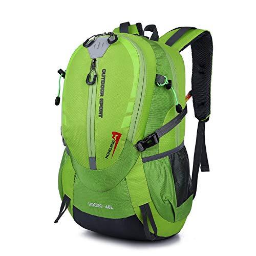 Hanggg reistas voor dames en heren met grote inhoud, van waterdicht nylonweefsel verde