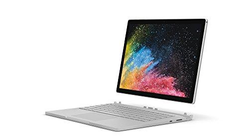 "Microsoft Surface Book 2, 13,5"" Argent (Core i7, 8Go de RAM, 256Go, Windows 10 Pro) - Clavier AZERTY français"