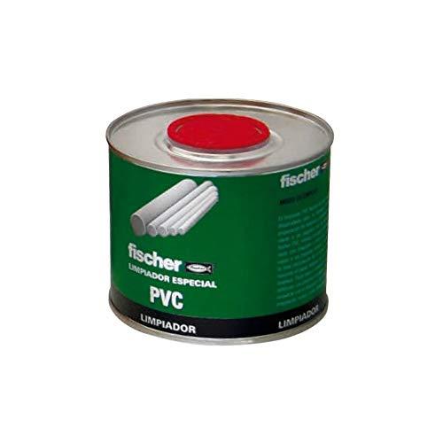 fischer – Limpiador PVC (lata 500 ml) para limpiar y activar restos de PVC rígido...