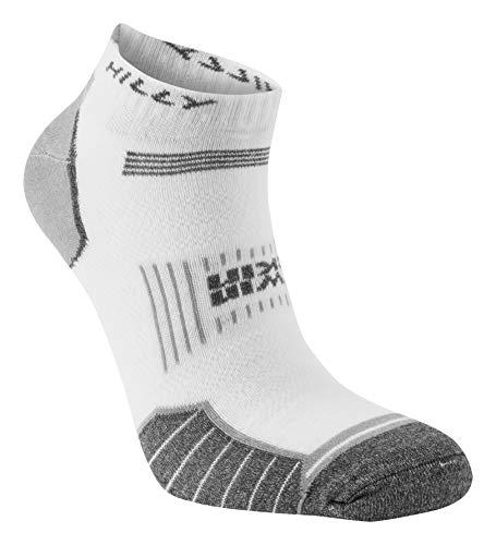 Hilly Unisex Twin-Skin-Sockel, weiß/grau meliert, Größe S