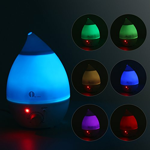 1 BY ONE 1.3 litros Humidificador ultrasónico, No...