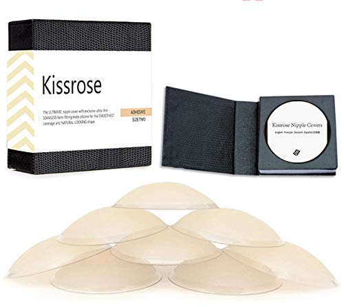 Nippleless Cover, Reusable Silicone Adhesive Pasties (World