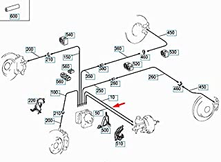 Conector 2x m10 x 1 para linea 4,75 mm reborde e tipo Odd DIN//ISO 1651
