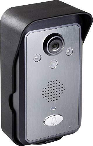 Technaxx 4771 Türsprechanlagen-Zubehör WLAN Außeneinheit Schwarz, Silber