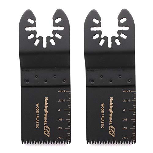 Hobbypower24© Set 2x/4x/6x Tauchsägeblatt/Japan Precision Sägeblatt 35mm Holz & Kunststoff für ALDI TopCraft Workzone Duro LIDL Parkside und WORX (2)