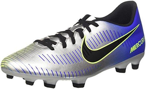 Nike Herren Mercurial Vortex III Neymar FG 921511 Fußballschuhe, Blau (Racer Blue Black Chrome Volt 407), 42 EU