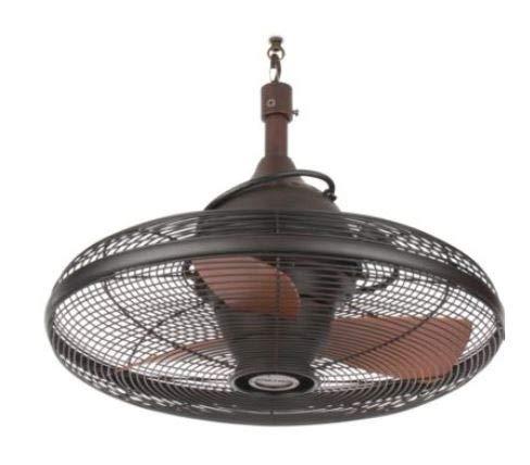 allen + roth Valdosta 20-in Oil-Rubbed Bronze Indoor/Outdoor Ceiling Fan (3-Blade)