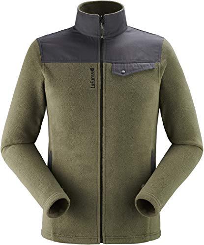 Lafuma Velvet Hybrid F-Zip M Fleece Jacket, Mens, Dark Bronze, S