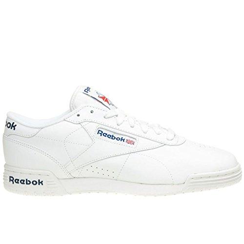 Reebok Exofit Lo Clean Logo Int WHT/Royal Blue/Royal Blue, Größen:46