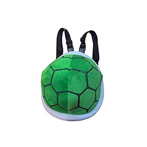 Plüsch Schildkröte Schildkrötenpanzer Turtle Rucksack Bag Kinder Kostüm (Grün)
