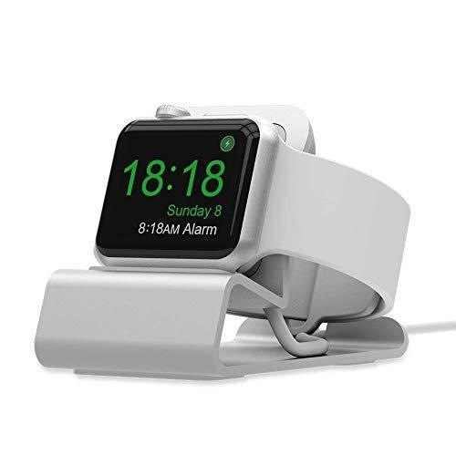 SPORTLINK スタンド Apple Watch Series 4 / 3 / 2 / 1、アップルウォッチ シリーズ 4 / 3 / 2 / 1 専用充電アシストドック 44mm / 42mm / 40mm / 38mmに対応するスタンド (ホワイト)