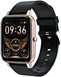 PKLG Smart Watch, con monitoraggio del sonno, fitness tracker, monitoraggio della salute, registrazione dei dati degli esercizi e promemoria delle chiamate, previsioni meteo (A)(A)