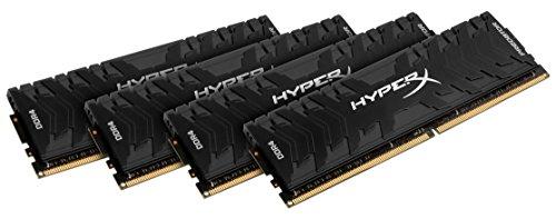 HyperX Predator Black 32GB 2666MHz DDR4 CL13 DIMM (Kit of 4) XMP (HX426C13PB3K4/32)