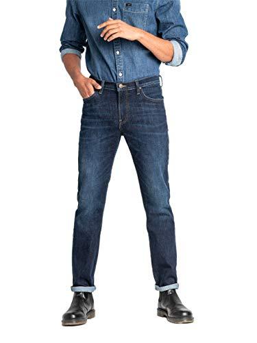 Lee Rider Contrast Jeans, Dark Pool GP, 34W / 34L Homme