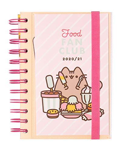 Grupo Erik Diario Scuola Giornaliero 2020/2021 Pusheen the Cat, Foodie Collection, 11 mesi, 11,4x16 cm