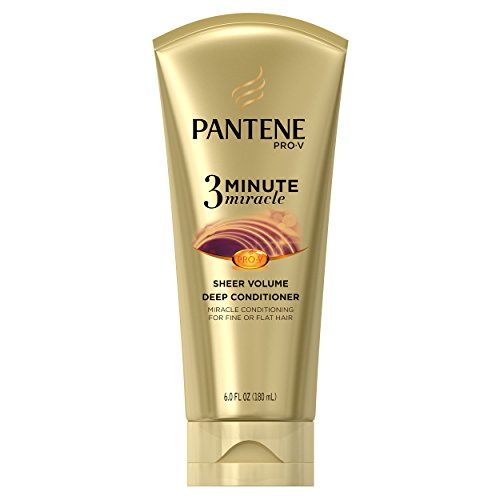 Pantene Sheer Volume 3 Minute Miracle Deep Conditioner