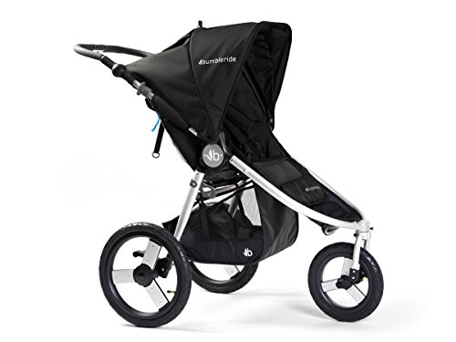Bumbleride Speed Jogging Stroller, Silver Black