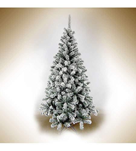 Giocoplast 28415163, Albero Di Natale Canadian Innevato 150 cm