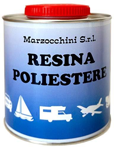 Resina Polyester per vetroresina con catalizzatore ml. 750