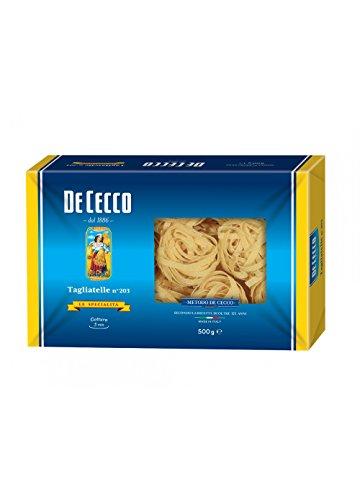 10x Pasta De Cecco 100% Italienisch Tagliatelle n 203 Nudeln 500g