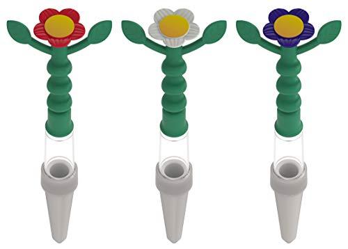 Heidi Gießanzeige, 3 Stück, bunt, Gießhilfe für alle Topfpflanzen, kein Batteriebetrieb, von weitem sichtbar