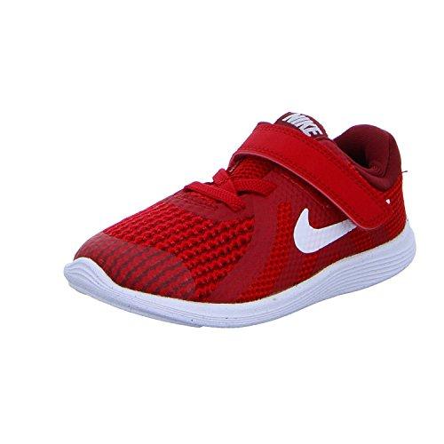 Nike Revolution 4 (TDV), Zapatillas de Gimnasia Niños, Rojo Gym Red White Team R 601, 21 EU