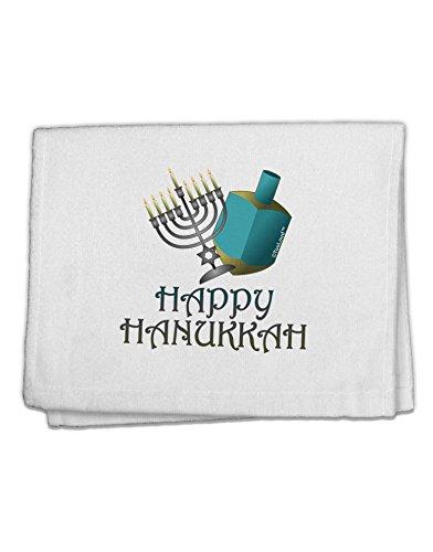 TOOLOUD Blue & Silver Happy Hanukkah 11'x18' Dish Fingertip Towel