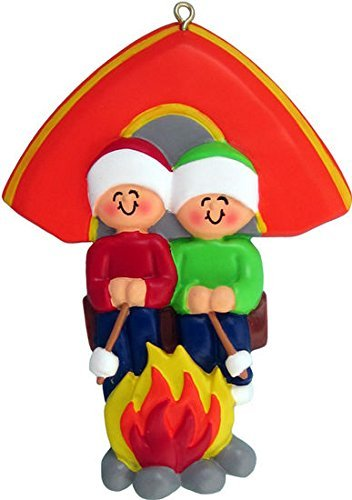 Ornament Central Two People Camping Ornament OC-279-2