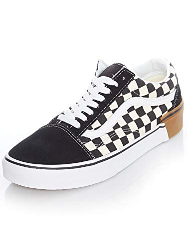 Vans - modelo Old Skool - zapatos - talla 46 - colores: negro, marrón y crema