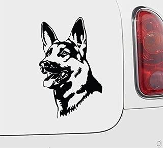 AK Wall Art German Shepherd - Vinyl Decal - Car Truck Laptop - Select Size