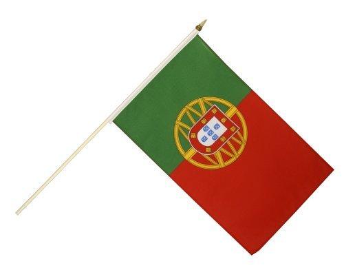 Digni® Drapeau Portugal sur hampe