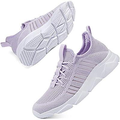 SCICNCN Walking Shoes for Womens Non Slip Light...