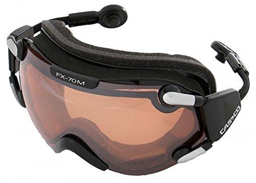 Skibrille Casco FX-70L schwarz Magnet-Link Vautron® 2 Automatic Scheibe incl. Sacchetto für Helmgröße S und M
