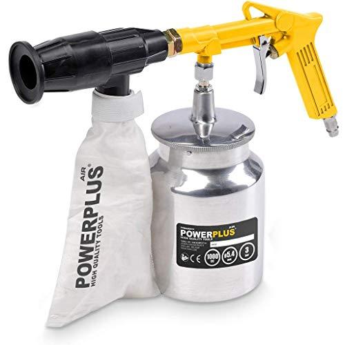 Varo - Pistola sabbiatrice ad aria compressa, inclusi 2 kg di sabbia,...