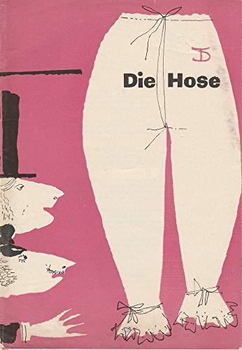 Programmheft Die Hose Bürgerliches Lustspiel von Carl Sternheim 1960 / 61 Heft 4