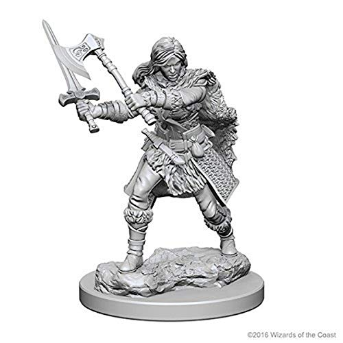 D&D: Nolzur`s Marvelous Miniatures - Human Female Barbarian