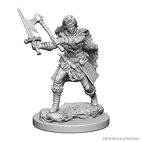 D&D Nolzurs Marvelous Unpainted Miniatures: Wave 1: Human Female Barbarian