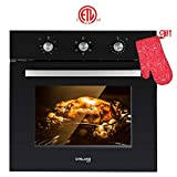 Single Wall Oven, GASLAND Chef ES606MB 24' Built-in Electric Wall Oven, 6...