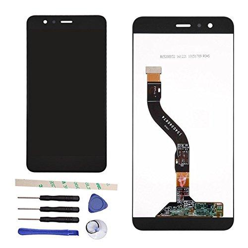 Draxlgon di Riparazione e Sostituzione Display LCD + Touch Screen Digitizer Vetro Schermo Assemblea per Huawei P10 Lite Was-LX2 WAS-LX1/ Nova Lite WAS-TL10 (Nero)