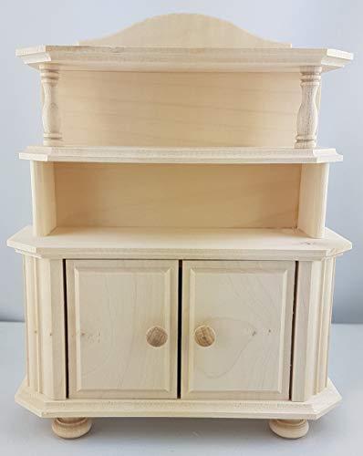 Rülke Holzspielzeug 22260 Puppenhauszubehör, holzfarben