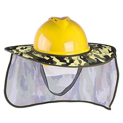 Casco de Ventilador Solar Casco de Seguridad en el Trabajo al Aire Libre Tapas Protectoras con energía Solar